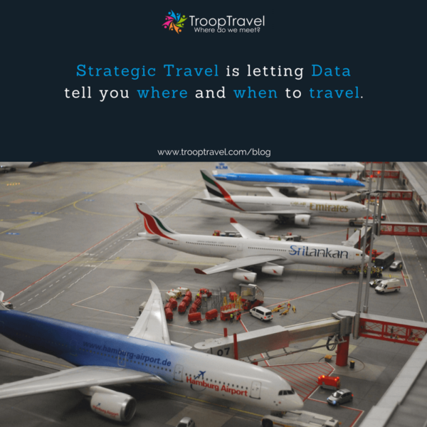 Strategic Travel is letting Data tell you where and when to meet