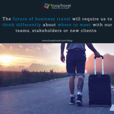 End of last year, we wrote a blog post about the future of travel where we foresee a rise in travelers from underrepresented regions as well as a change in the motivation of travel. Today, we want to share some thoughts about the Future of Business Travel. The future of business travel will bring a complete structural change about how we plan our future business travel. Let's look at two mayor trends in how the way we work is changing and its impact on the future of business travel