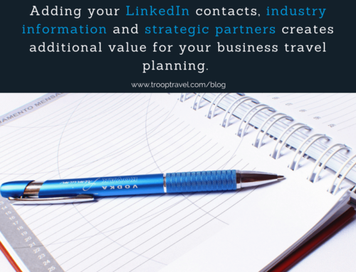 Adding strategic value to your Business Travel Planning