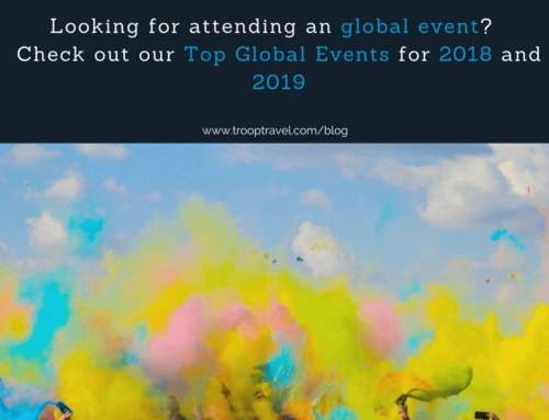 Top Global Events in 2018 and 2019