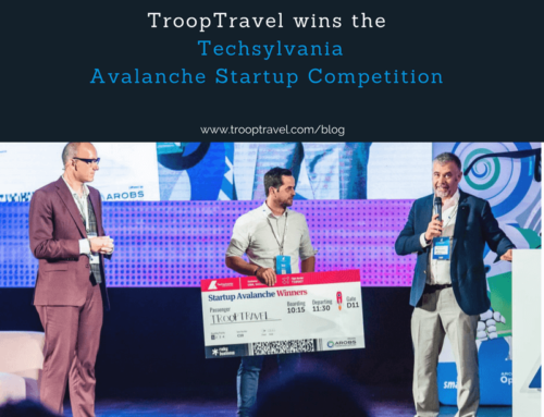 TroopTravel wins Techsylvania Startup Avalanche