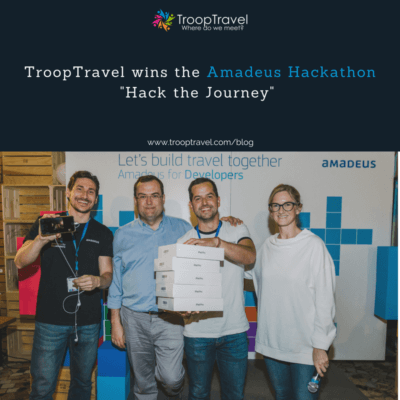TroopTravel wins Amadeus Hackathon