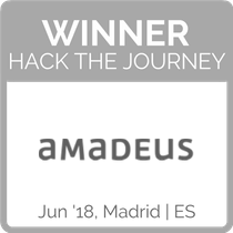 Winner Hack the Journey Amadeus