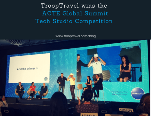 TroopTravel wins ACTE Tech Studio Award at Global Summit in Paris